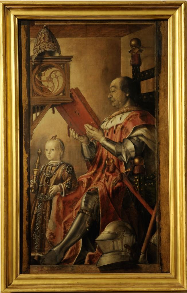 Ritratto Di Federico Da Montefeltro E Del Figlio Guidobaldo Detto