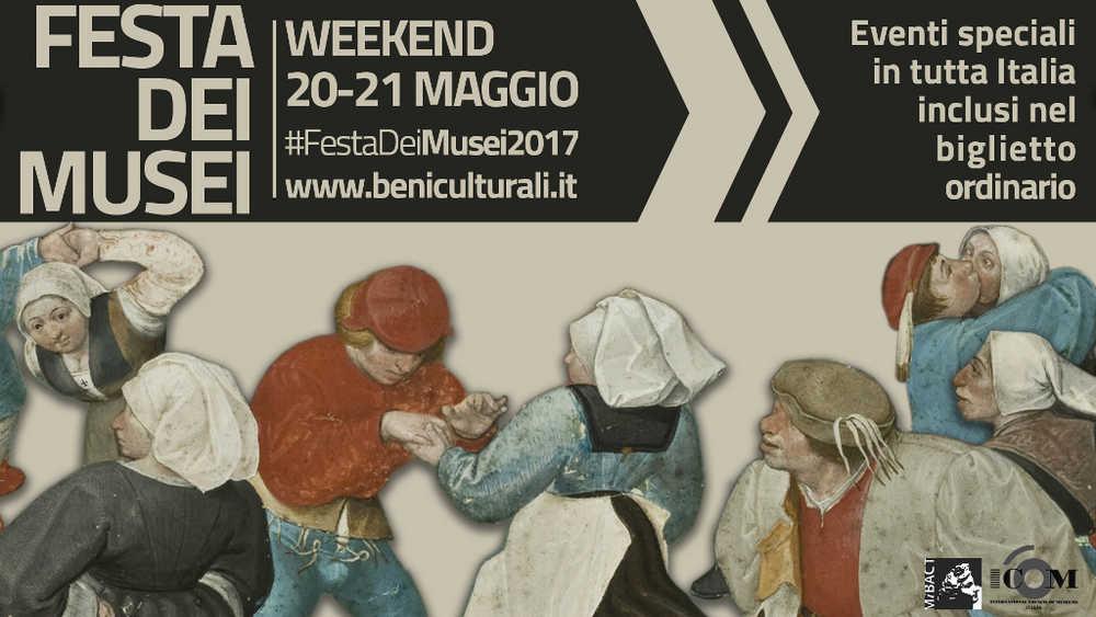 Festa dei Musei 2017